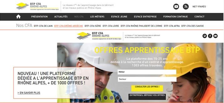 site de recrutement du btp dans la dr u00f4me et l u0026 39 ard u00e8che